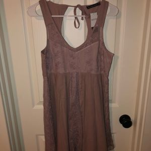 Abercrombie & Fitch Dresses - NWT Dusty Mauve Colored Abercrombie Mini Dress!!!